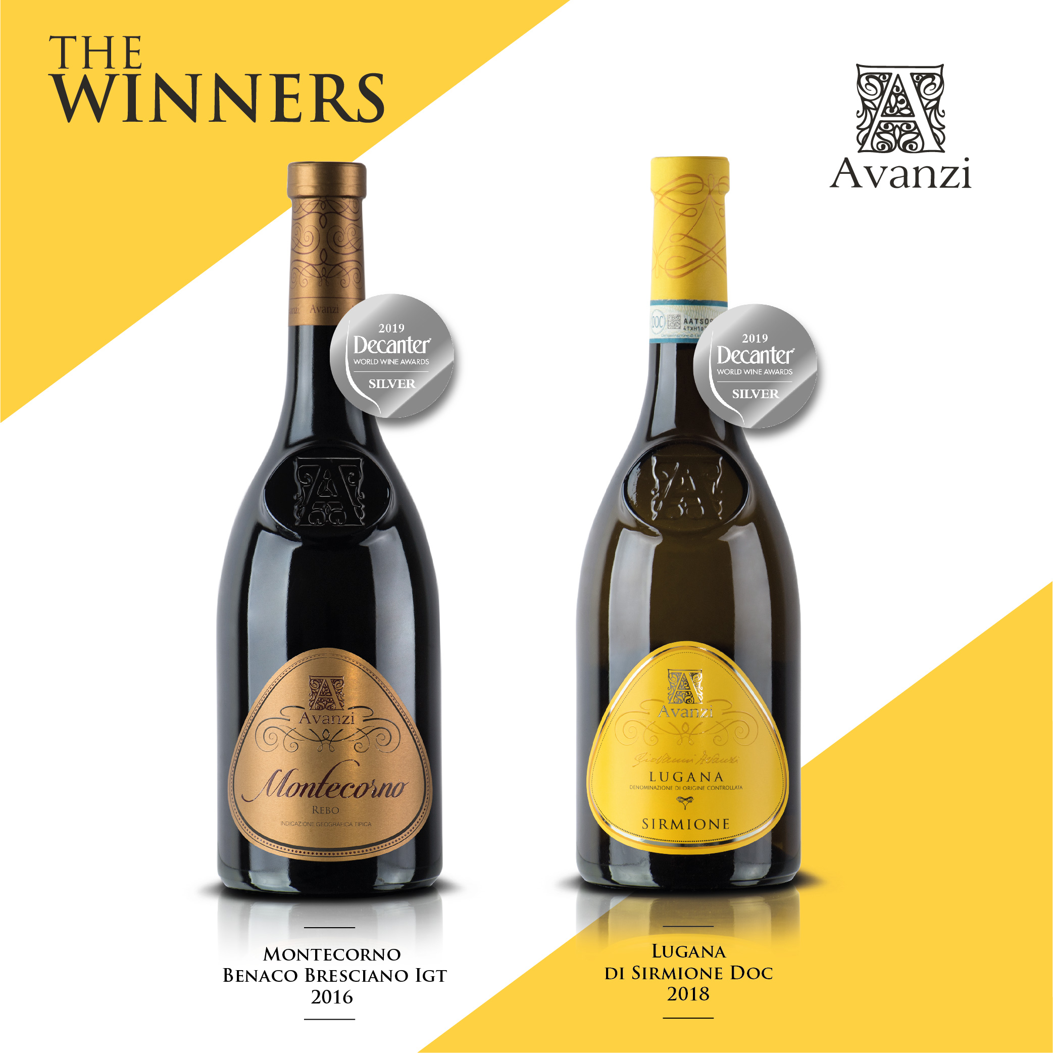 Medaglia d' ARGENTO al Decanter World Wine Awards (DWWA) LONDON 2019!
