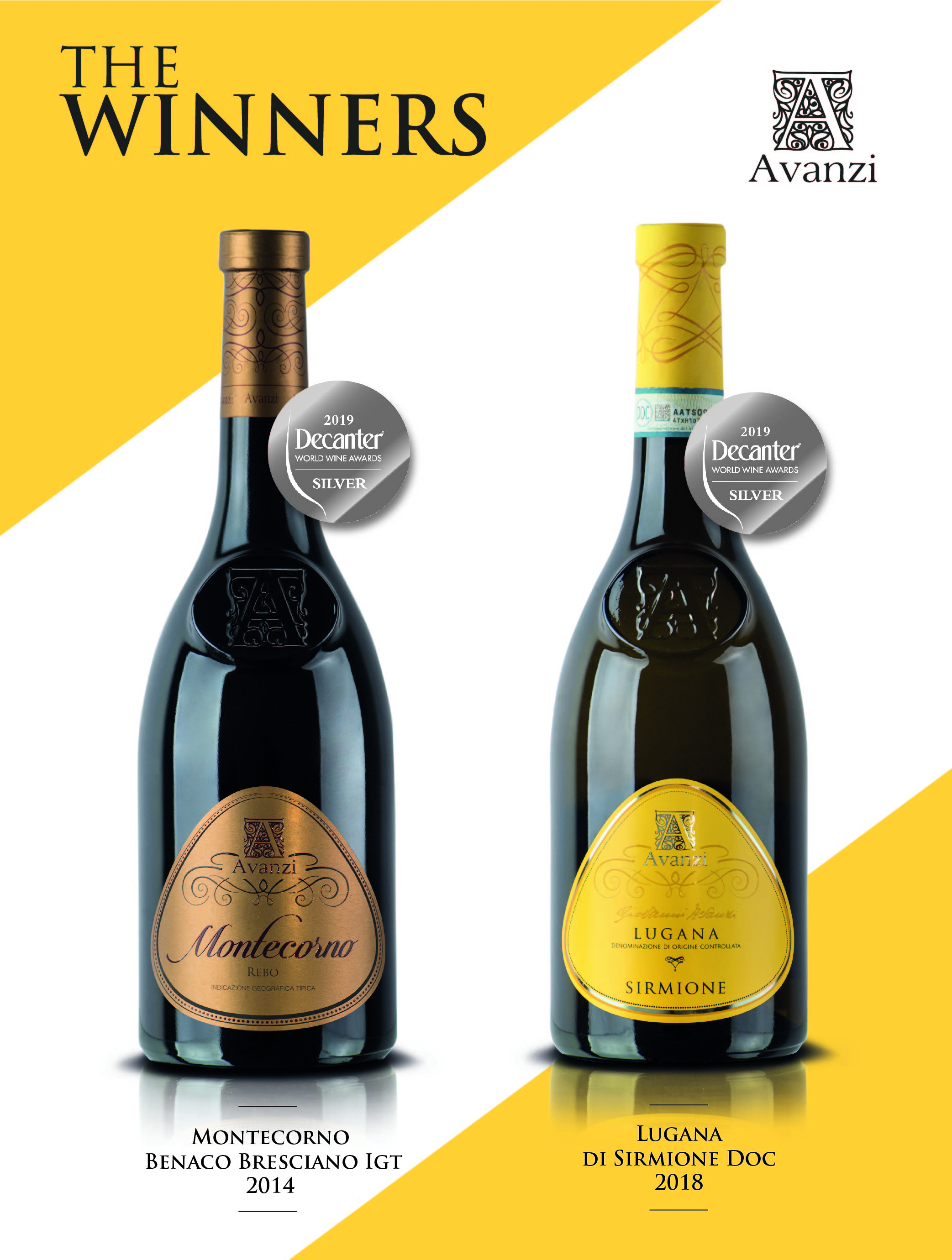 Medaglia d' ARGENTO al Decanter World Wine Awards (DWWA) LONDON 2019!